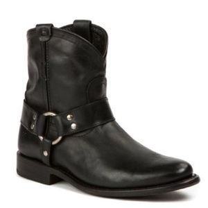 Frye Wyatt Harness Short Leather Boot